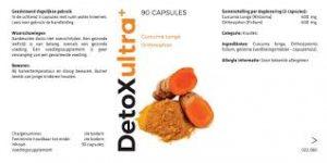 Detox Ultra Plus – het lichaam reinigen - kruidvat – instructie – waar te koop