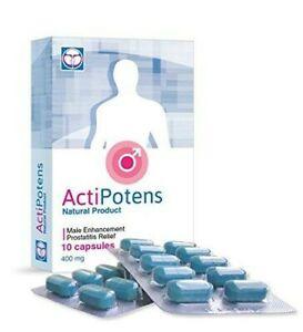 Actipotens - crème - gel - capsules