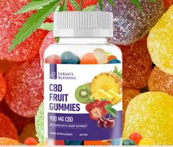 Sarah's blessing cbd fruit gummies - betere bui - kopen - radar - instructie