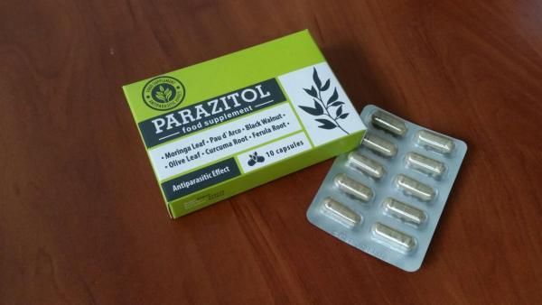 Parazitol - wat is - gebruiksaanwijzing - recensies - bijwerkingen
